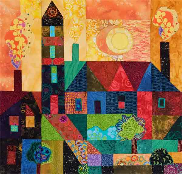 Quilts and Paintings | Hue Bliss: Color & Art notes by Karen ... : quilt paintings - Adamdwight.com