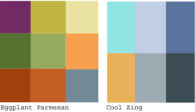 Earthy Colors warm and cool colors | hue bliss: color & art noteskaren