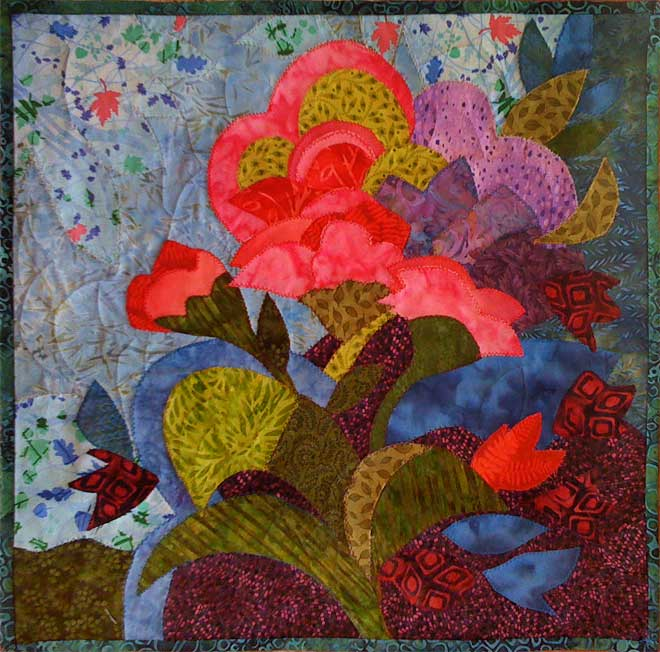 What is an Art Quilt? | Hue Bliss: Color & Art notes by ...