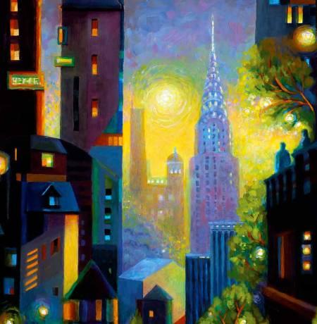 Art Deco Dawn, Karen Gillis Taylor