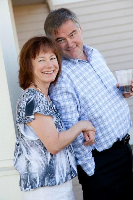 Karen and Rob, summer of 2011, wedding times