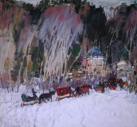 Leon-Gaspard-Villagers