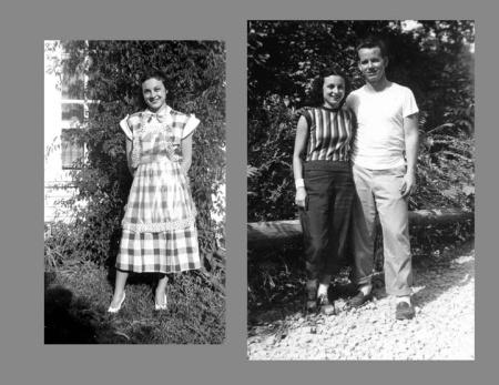 Anna Sara Cozza and Robert McCrery Gillis, my parents