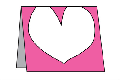 easy Valentine Card project – Valentine Card Layouts