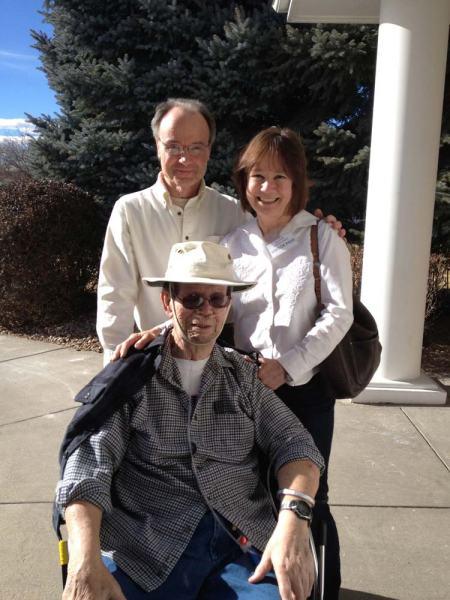Brother Bob, Karen (me) and Dad Bob Gillis