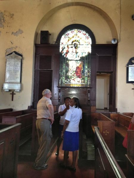 St. Peter's Anglican Church   ~ The oldest public building in Falmouth