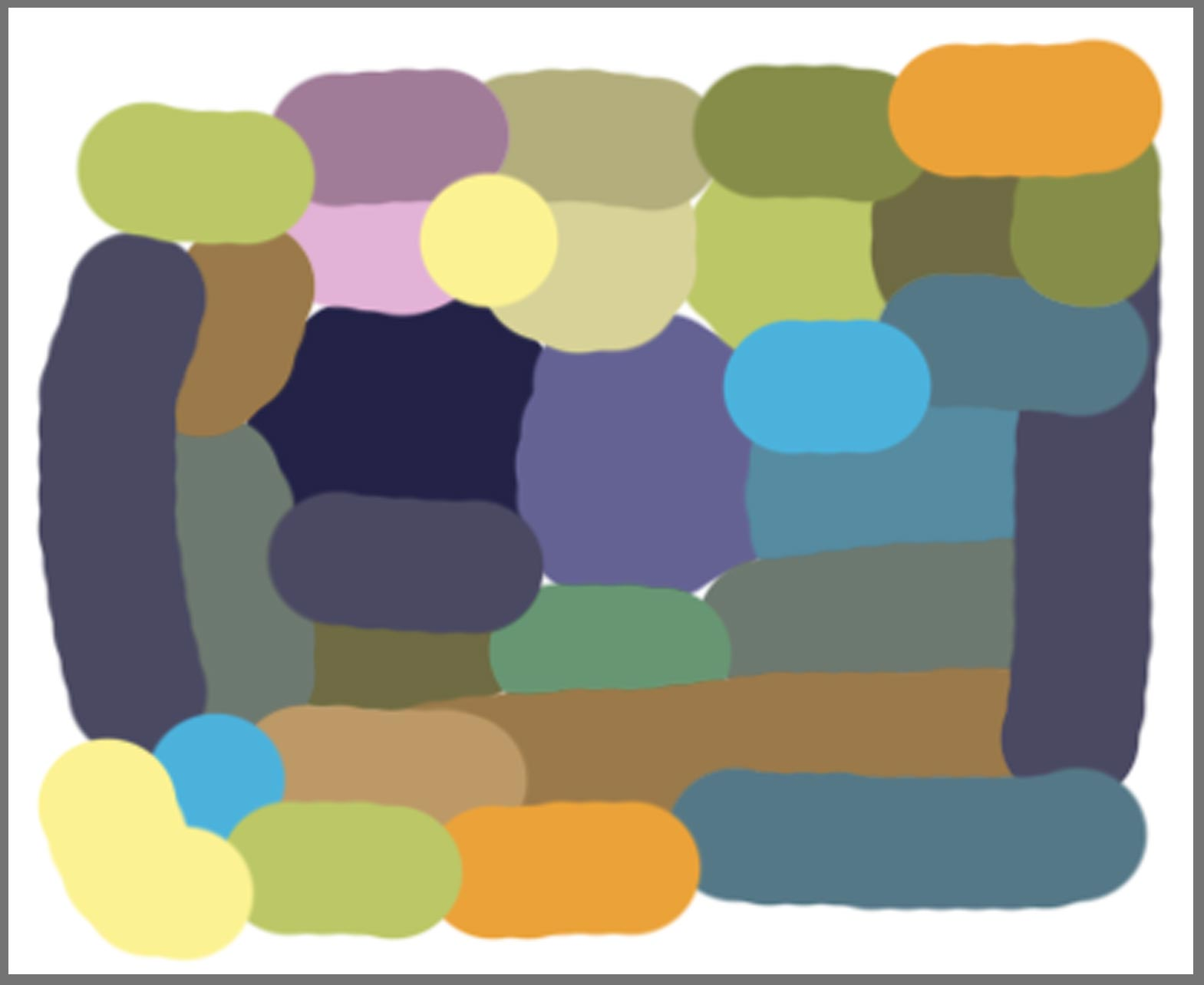 A new Niwot color palette for an abstract painting ...