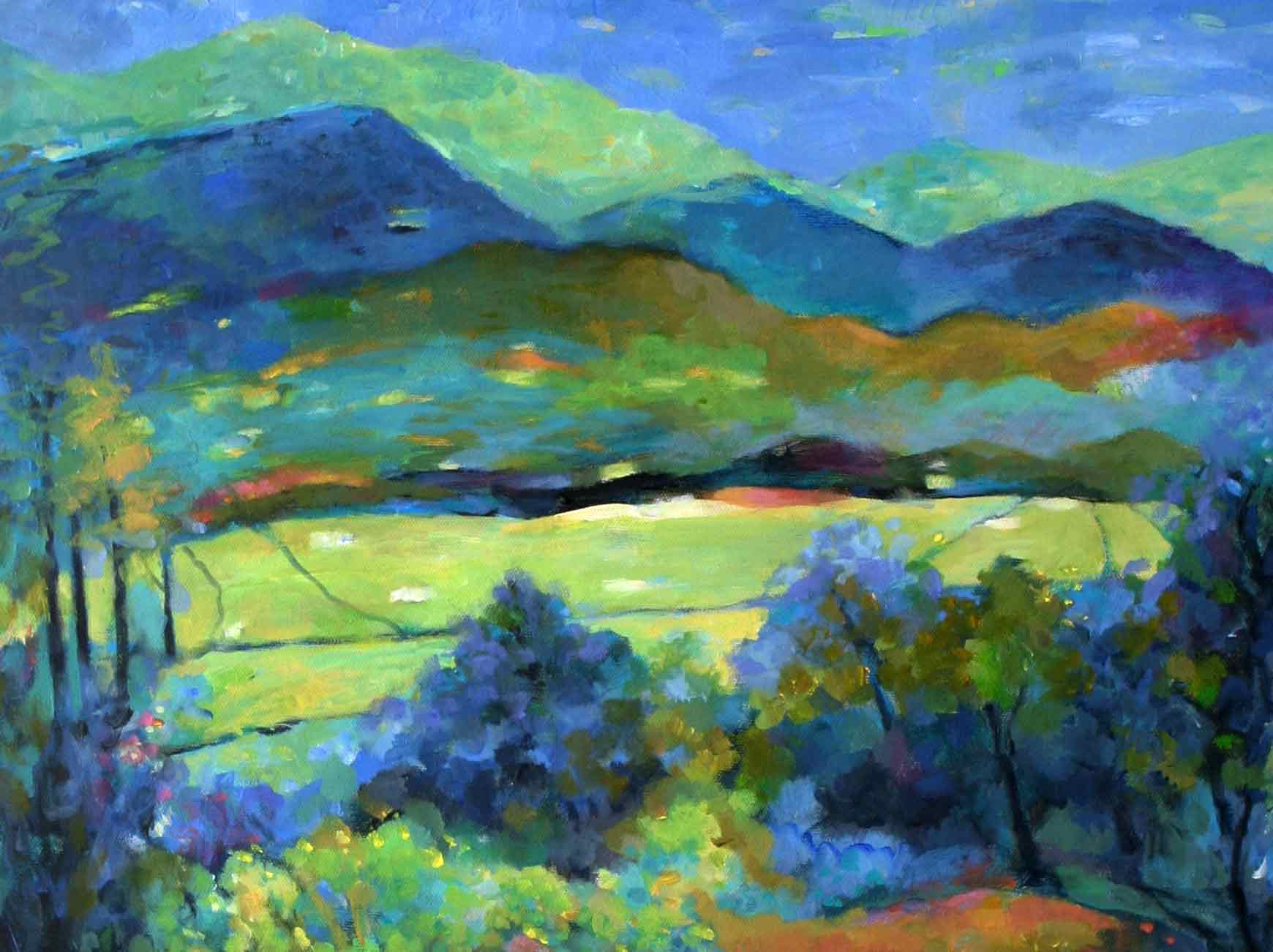 warm and cool colors | Hue Bliss: Color & Art notes by Karen Gillis ...