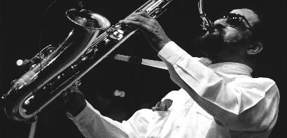 Sonny Rollins, jazz sax musician