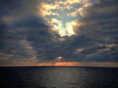 Sunrise-near-Cozumel