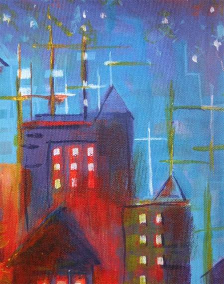 """June Town"", detail"