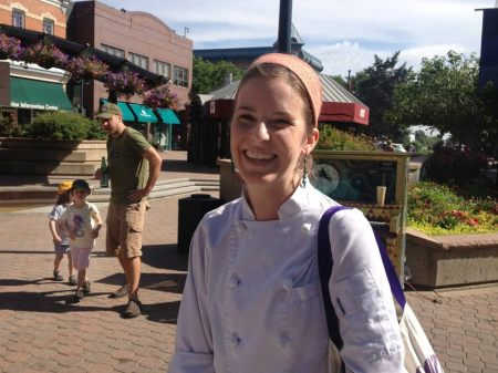 Amy Wyatt is the Pastry Chef and owner of The Little Bird Bakeshop.