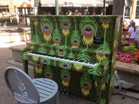 Painted piano, Old Town Ft. Collins