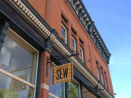 Mama Said Sew. Cutest name ever for a quilt shop.