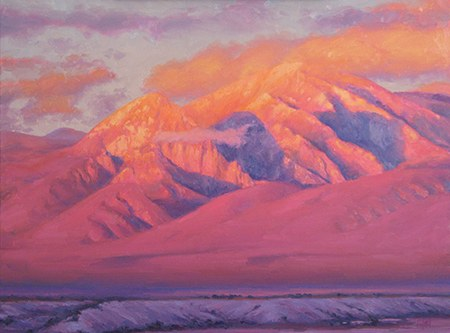 """Taos Mountains Crown of Gold"", Don Ward, 36' x 48"""