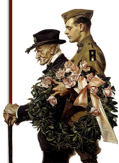 J.C. Leyendecker, Saturday Evening Post illustration