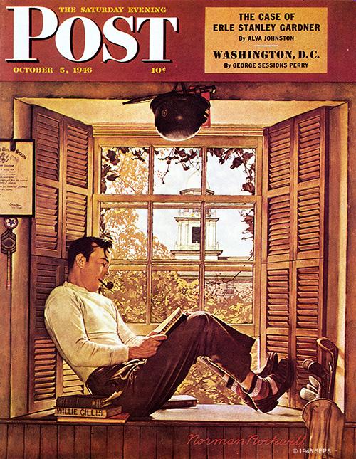 SAT. EVENING POST-APRIL 9, 1960-cover DUXBURY, MASS.