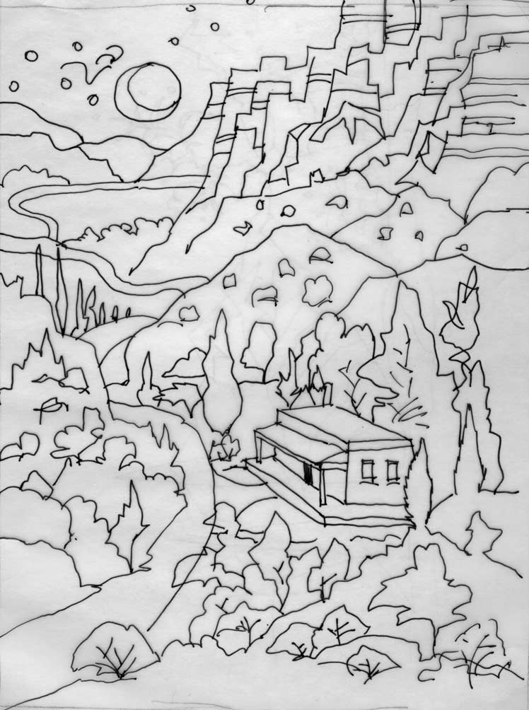 o keefe coloring pages - photo #2