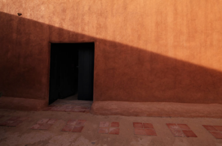 Photo of Georgia O'Keefe's home in Abiquiu by Annie Leibovitz