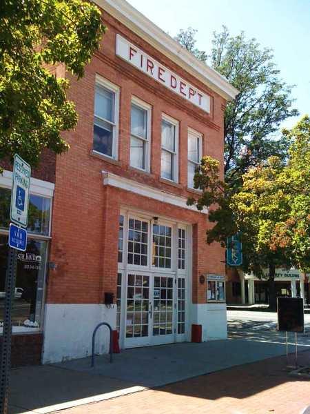 Old Firehouse Art Gallery, Longmont, Colorado where I kept a studio space