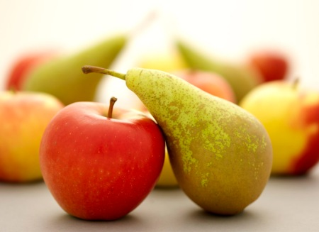 Apple and Pear, Organic Connecting Magazine