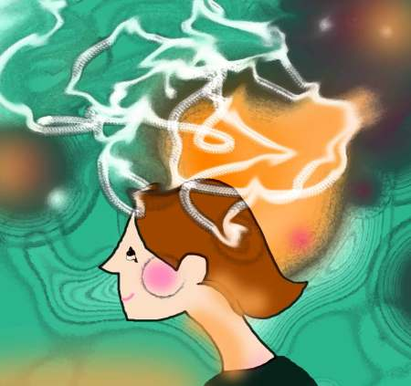 This is my brain after the amazing Adobe After Effects animation workshop. Can't wait to try some fun animations now!