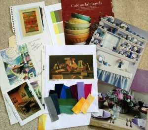 Sampling of my resource files for color inspiration. Do you have a collection of your own for inspiration?