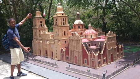 Architectural model, Cozumel, Mexico, from Discover Mexico Park