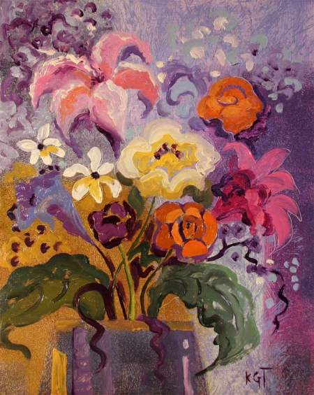 """Early Fall Inspiration"", oil on board, 11 x 14"", Karen Gillis Taylor, 2014"