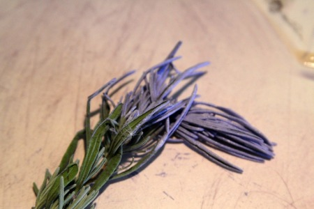 My lavender brush