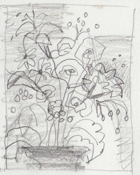"""Early Fall"" pencil sketch"