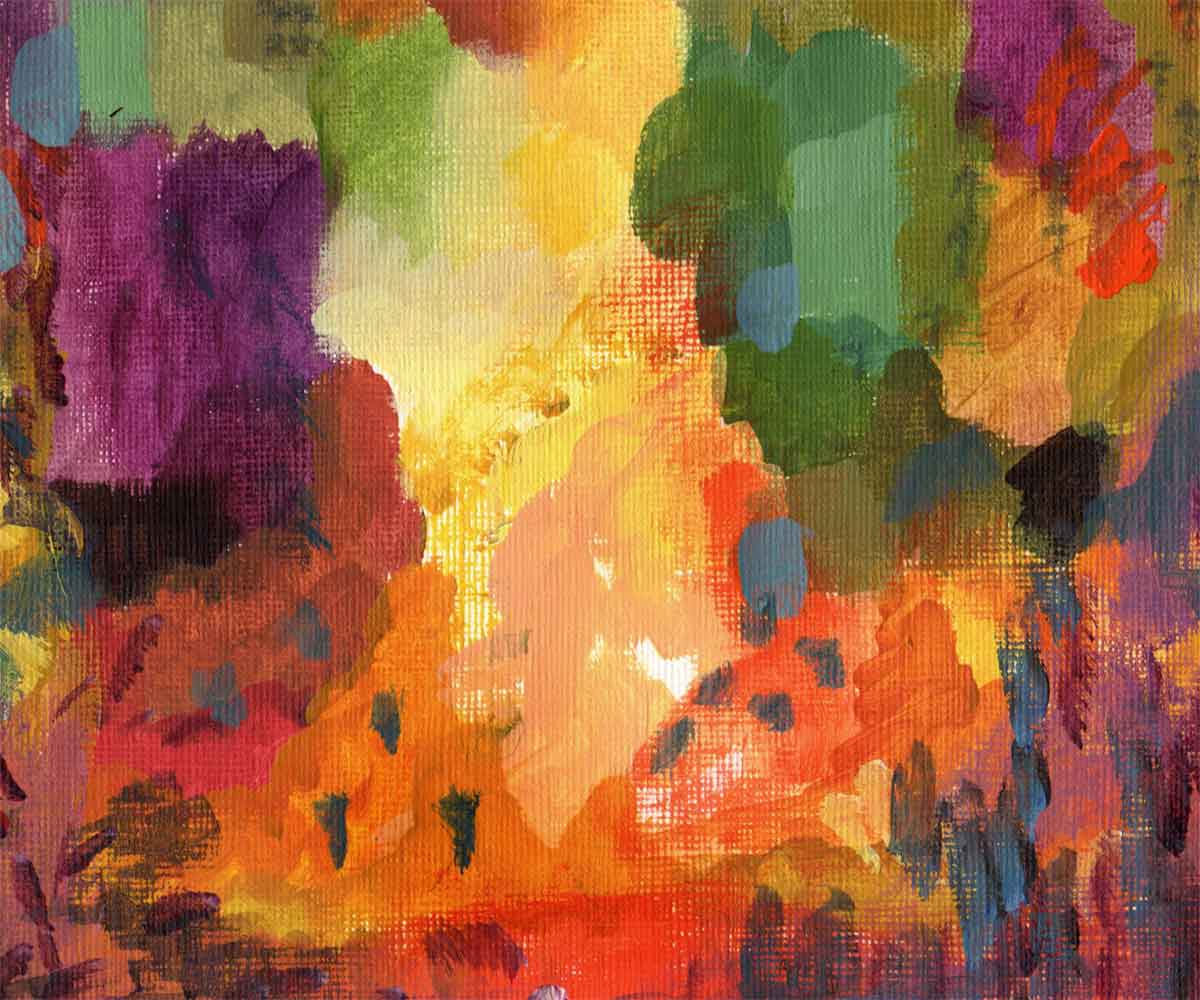How Creating New Color Palettes Fuels Abstract Painting