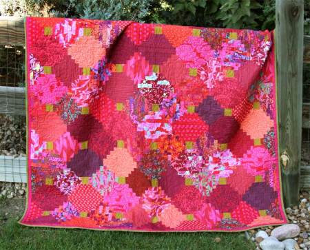 The beautiful gift quilt.