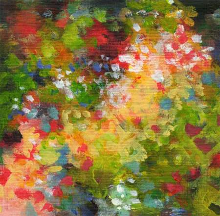 Sunlit Garden 2, detail, KGT