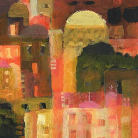 """Tuscan Primitive,"" detail"