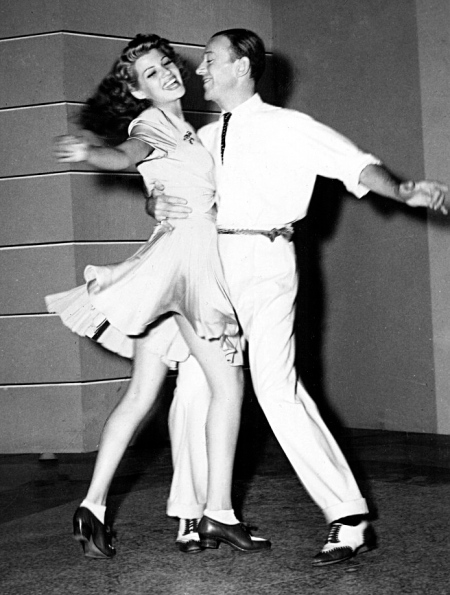 Rita with Fred Astaire, what a pair!