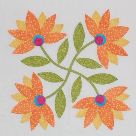 Erin Russek's quilt block design