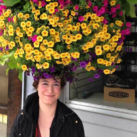 Katie with Flower Hat, Libby, Montana, June 2014