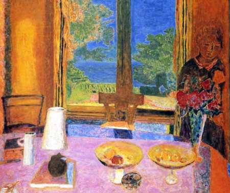 """Dining Room on the Garden,"" Pierre Bonnard"