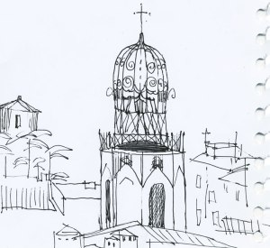 aix-en-provence-drawing