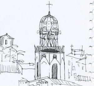 aix-en-provence-drawing