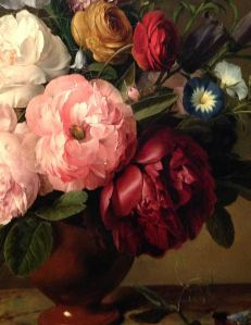 Dutch floral painting, 1700s, oil