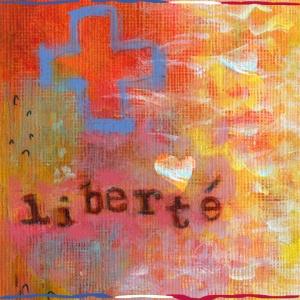 Liberte, acrylic, kgt